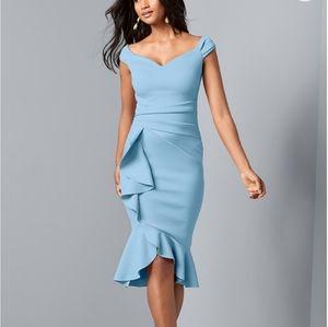 Venus Cap Sleeve Dress Sz S